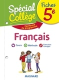 Sylvie Coly - Fiches français 5e Spécial Collège.