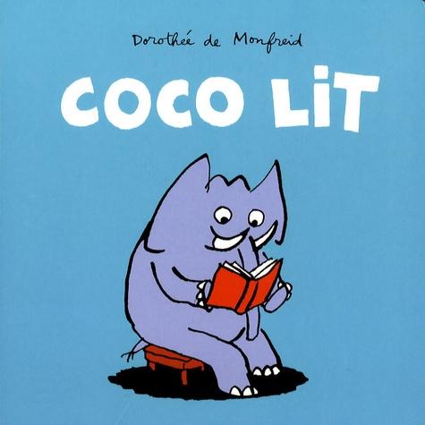 Coco lit / Dorothée de Monfreid | Monfreid, Dorothée de (1973-....). Auteur