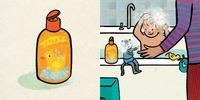 Les images de Lou et Mouf  Le bain