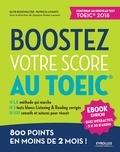 Elvis Buckwalter et Patricia Levanti - Boostez votre score au TOEIC - 800 points en moins de 2 mois !.