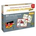 Stéphanie Eleaume Lachaud et  Filf - J'apprends l'allemand autrement niveau débutant - 80 cartes mentales pour apprendre facilement la grammaire, la conjugaison et le vocabulaire allemands !.