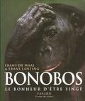 Bonobos, le bonheur d'être singe | Waal Frans de. Auteur