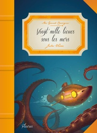Jules Verne et Olivia Karam - Vingt mille lieues sous les mers.