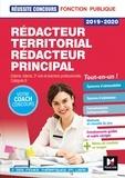 Bruno Rapatout et Brigitte Le Page - Réussite Concours - Rédacteur territorial/Rédacteur principal - 2019-2020 - Préparation complète.