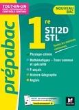 Thomas Brunet et Annie Goulvent - Prépabac 1re STI2D/STL - Toutes les matières générales - Cours et contrôle continu.