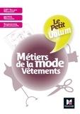Julien Butet et Valérie Batelot-Frison - Le Petit Volum' - Métiers de la mode - Vêtements - Révision et entraînement.