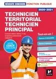 Christine Drapp et Denis Magnin - Réussite Concours - Technicien territorial / principal - 2020-2021 - Préparation complète.