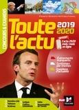 Pierre Savary et Michel Derczansky - Toute l'actu 2019 - Concours & examens - Sujets et chiffres clefs de l'actualité 2020.