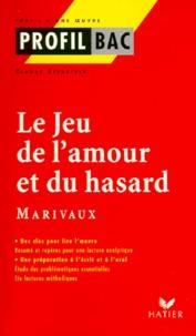 """Claude Eterstein - """"Le jeu de l'amour et du hasard"""", Marivaux."""