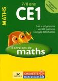 Lucie Domergue - Mathématiques CE1 7/8 ans - Exercices et corrigés.