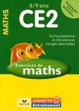 Lucie Domergue et Juliette Domingie - Mathématiques CE2 8/9 ans - Exercices et corrigés.