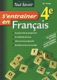 Christine Formond - S'entraîner en Français 4e.