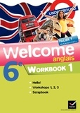 Evelyne Ledru-Germain - Anglais 6e Welcome - Workbook en 2 volumes.