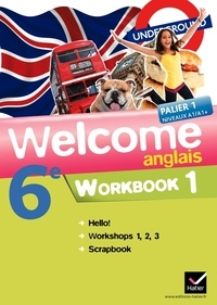Evelyne Ledru-Germain - Anglais 6e Welcome - Workbook en 2 volumes.