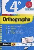 Christine Formond - Orthographe 4e.