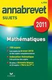 Bernard Demeillers - Mathématiques - Sujets 2011.