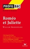 Marinette Faerber - Profil - Shakespeare (William) : Roméo et Juliette - Analyse littéraire de l'oeuvre.