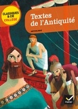 Marie-Pierre Bortolussi - Textes de l'Antiquité.
