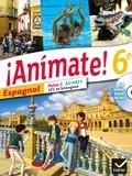 Stéphanie Gaillardin et Valérie Laluque - Espagnol 6e Animate !. 1 CD audio