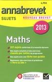 Bernard Demeillers - Mathématiques Brevet - Sujets.