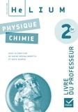 Karine Médina-Moretto et David Dauriac - Physique-Chimie 2e - Livre du professeur.