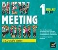 Josette Starck - Anglais 1re B1/B2 New Meeting Point. 3 CD audio
