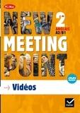 Josette Starck - Anglais 2e A2/B1 New Meeting Point. 1 DVD