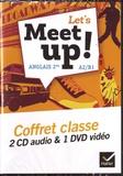 Erwan Gouraud et Hugues Azaïs - Anglais 2de A2/B1 Let's meet up!. 1 DVD + 2 CD audio