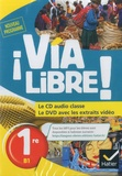 Hatier - Espagnol 1re B1 Via Libre !. 1 DVD + 1 CD audio