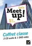 Erwan Gouraud - Let's Meet up! 1re B1/B2. 1 DVD + 2 CD audio