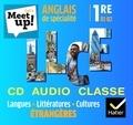 Erwan Gouraud - Anglais de spécialité 1re B1-B2 Let's Meet up!. 1 CD audio
