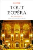 Gustave Kobbé - Tout l'opéra - Dictionnaire, de Monteverdi à nos jours.