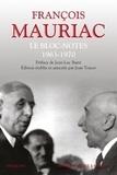 François Mauriac - Le Bloc-notes Tome 2 : 1963-1970.