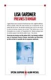 Preuves d'amour : roman / Lisa Gardner | Gardner, Lisa (19..-....) - romancière. Auteur