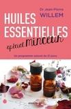 Jean-Pierre Willem - Huiles essentielles spécial minceur - Un programme naturel de 21 jours.