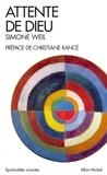 Simone Weil - Attente de Dieu.