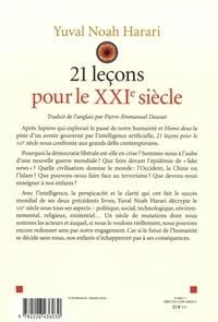 21 leçons pour le XXIe siècle