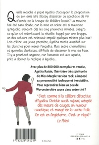 Agatha Raisin enquête Tome 25 Au théâtre ce soir