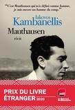 Iakovos Kambanellis - Mauthausen - Prix du livre étranger 2020 - JDD - France Inter..