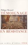 Philippe Mesnard - Témoignage en résistance.