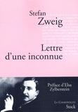 Stefan Zweig - Lettre d'une inconnue.