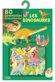 Daniela Dogliani - Les dinosaures - 80 gommettes autocollantes.