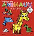 Marion Billet - L'imagier des animaux à colorier.
