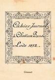 Célestine Parrot - Cahier Journal - 1892.