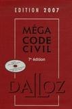 Xavier Henry et François Jacob - Méga Code civil. 1 Cédérom