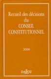 Dalloz - Recueil des décisions Conseil constitutionnel.