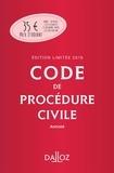 Pierre Callé - Code de procédure civile 2019 annoté - Edition limitée.
