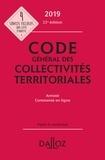 Frédéric Allaire et Vincent Crosnier de Briant - Code général des collectivités territoriales - Annoté.
