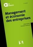 Gilles Bressy et Christian Konkuyt - Management et économie des entreprises.