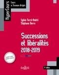 Sylvie Ferre-André et Stéphane Berre - Successions et libéralités.